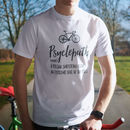 'Psyclepath' Men's Cycling T Shirt