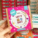 Let's Eat! Cross Stitch Craft Kit
