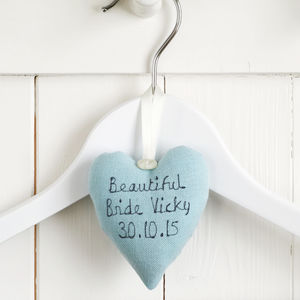 Personalised Bride To Be Heart - hanging decorations