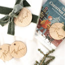 'Want, Need, Wear, Read' Christmas Tags