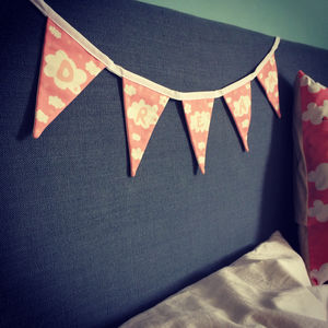 'Dream' Mini Bunting - decorative letters