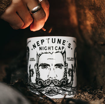 'Neptune's Nightcap' Hand Poured Soy Wax Candle