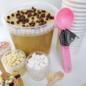 Create Your Own Edible Cookie Dough Bar - sweet treats