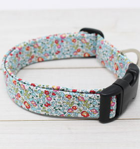 Chloe Liberty Fabric Dog Collar - dogs