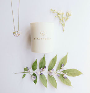Wisteria And Orange Blossom Jewellery Candle - tableware