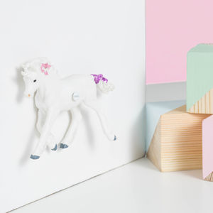 Unicorn Cupboard And Drawer Knobs ~ Set Of Eight
