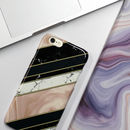Marble Stripes Phone Case, More Colours