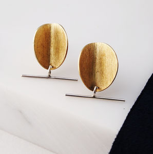 Electric Disc Studs - our favourite summer jewellery