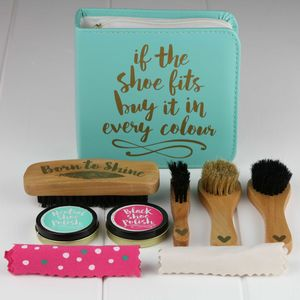 'If The Shoe Fits…' Shoe Shine And Polish Kit