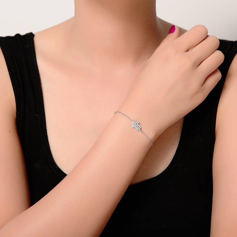 heart bracelet products burman annika small from jewellery in silver