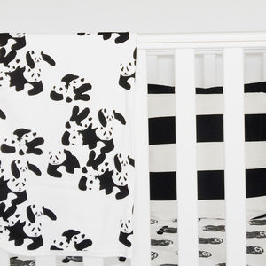 Panda Party Baby Blanket - whatsnew