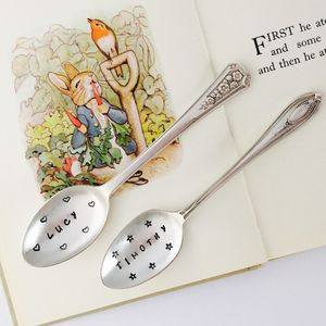 Personalised New Baby Tea Spoon