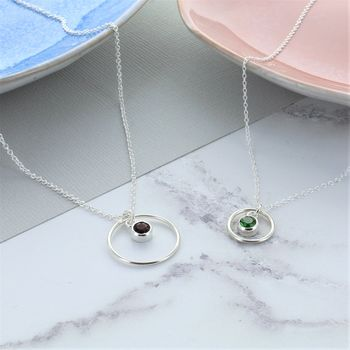 Mummy And Me Circle Of Life Birthstone Set