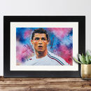 Official Cristiano Ronaldo Print By Sidney Maurer