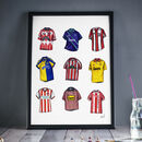 Sheffield United Classics Print