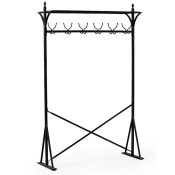 Industrial Iron Clothes Rail
