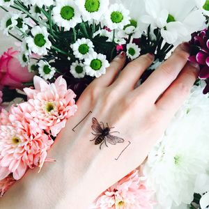 Bee Temporary Tattoo - temporary tattoos