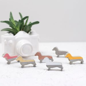 Concrete Decorative Dogs