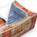 Personalised Two Person Picnic Hamper | Amber Tartan