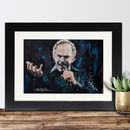 Official Neil Diamond Framed Print By Sidney Maurer