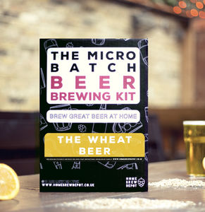 The Wheat Beer Micro Batch Beer Brewing Kit