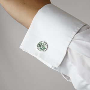 Foliage Cufflinks - men's accessories