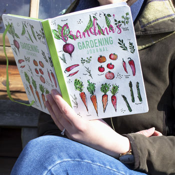 Personalised Mother's Day Gardening Journal