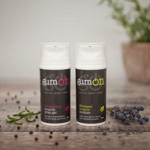Set Of Two Sports Muscle Gels - gift sets