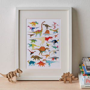 Dinosaurs Print - animals & wildlife