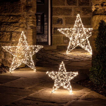 Twinkling Outdoor Star Light