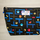 Retro Gaming Video Arcade Game Toiletry Wash Bag