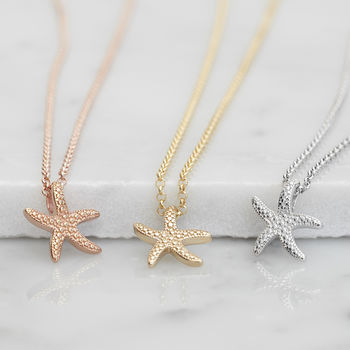 Starfish Necklace For Tranquility