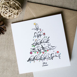 Christmas Birds Card - view all new