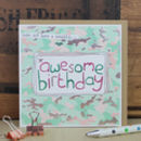 Birthday Card For A Girl Or Teenager