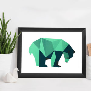Polar Bear Print - baby's room