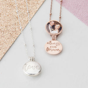 Love Always And Forever Locket - best valentine's gifts for her