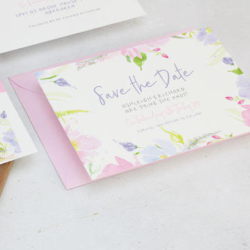 Eden Save The Date Cards