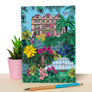 Kew Gardens Illustrated Notebook