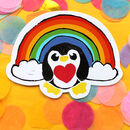Rainbow Penguin Pick Me Up Letter Box Gift Set