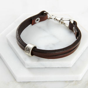 Leather 'Elements' Bracelet