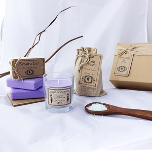 Personalised Pampering Lavender Gift Set - soap gift sets