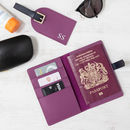 Travel Set Of Passport And Luggage Tag