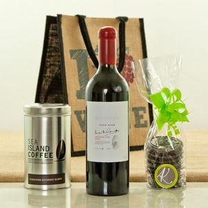 I Love Wine Australian Shiraz Gift Bag - christmas food & drink