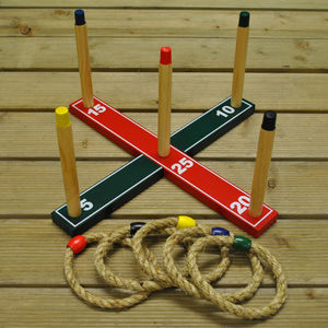 Quoits / Garden Ring Toss Game - outdoor toys & games
