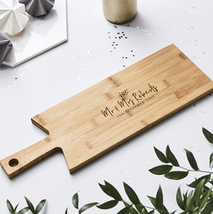 Wooden Personalised Chopping Board - top sale wedding gifts