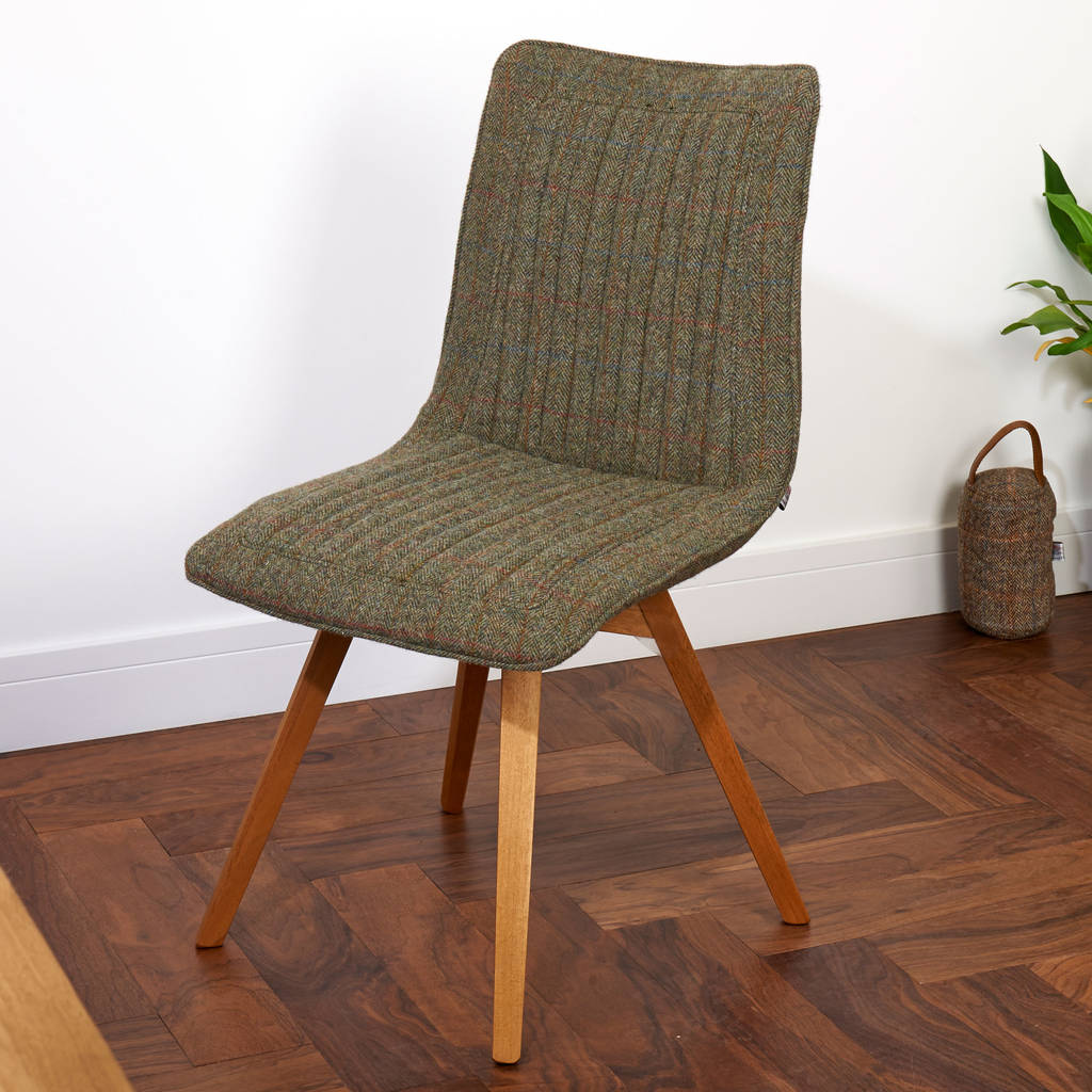 tweed chair and taransay leather harris settees collection tetrad pin gents