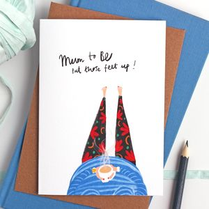 Mum To Be Card - new baby cards