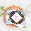 Floral 'Meadow' Wedding Save The Dates Pack Of 10