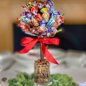 Edible Chocolate Tree Covered With Cadbury Celebrations - novelty chocolates