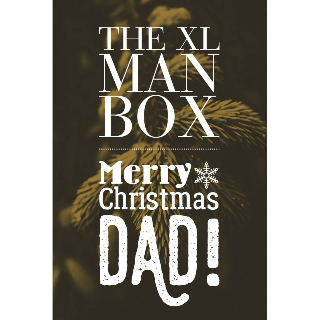 merry christmas dad xl man box beer hamper - Merry Christmas Dad